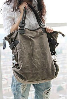 Schultertaschen - 11. Canvastasche schultertasche unisex - ein Designerstück von MyBags bei DaWanda