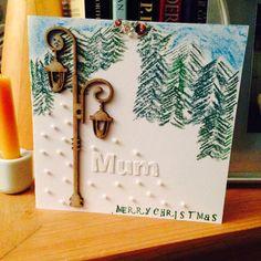 Narnia inspired Christmas card