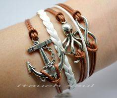 Marine braceletInfinite bracelet hand catenary by itouchsoul, $5.99
