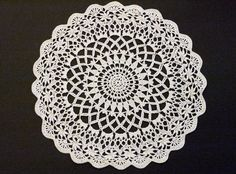 The Angel Harden doily