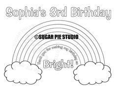 Dance Party Birthday, Rainbow First Birthday, Birthday Party Favors, Girl Birthday, Birthday Ideas, Half Birthday, Bear Birthday, Birthday Parties, Birthday Activities