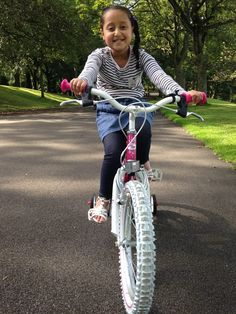 We'd like to thank you for the bikes for Mariyah and Aisha. They are very much appreciated. Both were very excited to go to Evans Leeds and pick up the bikes.The girls have been practicing in the park. We hope that Mariyah's leg muscles will continue to get stronger with the help from her bike. Mum #KeepPedalling #Cyclists #Fighting #Cancer #cycling #ride #pedal