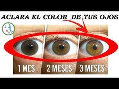 Aclarar los ojos naturalmente (LA RECETA MILENARIA) - YouTube