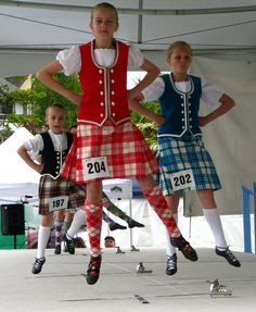 Scottish dancing Did this in dancing school many years ago.....