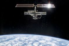 STS-113 - Dec 2, 2002 - ISS photographed by Shuttle Endeavour, post-undocking.