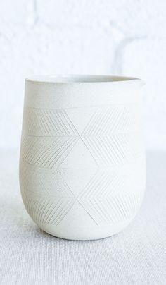 Kati Von Lehman Etched Vase / Pitcher – Spartan