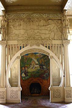 Casa Bures Art Nouveau door entry