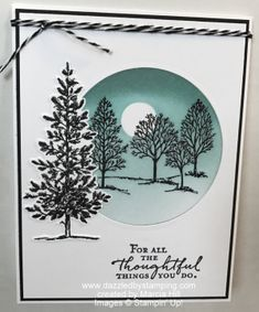 9 More Easy Homemade Christmas Cards with Step by Step Instructions – DIY Fan Homemade Christmas Cards, Christmas Tree Cards, Xmas Cards, Stamping Up Cards, Marianne Design, Winter Cards, Sympathy Cards, Flower Cards, Creative Cards