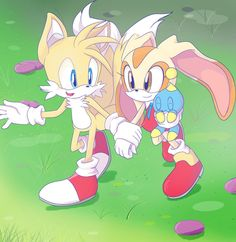 """98- """"Where are they?!"""" Asked Rouge. """"I don't know!"""" Shadow told her. """"We have to look for them!"""" Sally stated. """"Let's divide into groups of two. Bunny and Antoine you check the park. Blaze and Silver go look on the western outskirts. Manic and Amy you take the east. Espio and Nicole, the north. Vector and Charmy can you search the gardens?"""" """"You bet!"""" These teams ran off. """"Sonia and Shadow. Ask around and see if anyone has seen them. Sonic and I will take the west you two take the east."""""""