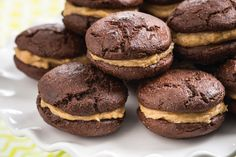 BCPB (Banana Cocoa Peanut Butter) Whoopie Pies