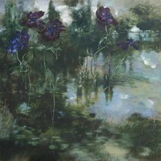 Claire Basler AND painting - Bing Images Clare Basler, Nature Sauvage, Mystique, Learn To Paint, French Artists, Painting & Drawing, Encaustic Painting, Art Techniques, Painting Inspiration