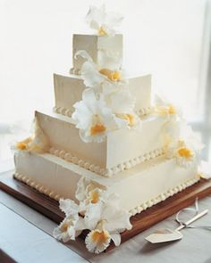 Clean Cattleyas | Martha Stewart Weddings