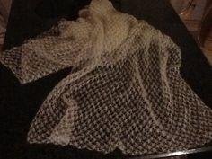 Mohair met zijde sjaal