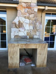 Firplace clad with Australian sandstone cladding Ranch irregular wallling. #fireplace #stonecladding #landscaping stone Sandstone Cladding, Sandstone Wall, Natural Stone Wall, Natural Stones, Stone Supplier, Wall Cladding, Firewood, Ranch, Landscaping