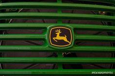 Nice grill!  John Deere logo.