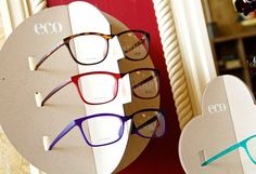 ECO - earth conscious optics Biobased frames at Look Eyecare & Eyewear!