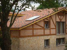 Panel solar térmico en el tejado