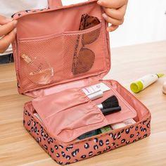 Women s Fashion Multifunctional Cosmetic Bag Beauty Box Makeup Organization  Zipper Skin Care Shop Travel Wholesale f7fae5319fe9c