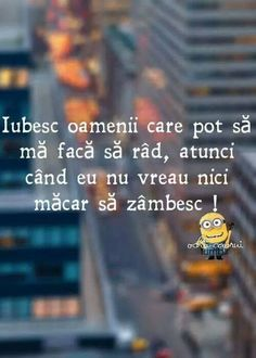 Iubesc oamenii care pot sa ma faca sa rad , atunci cand eu nu vreau nici macar sa zambesc ! Love Me Quotes, Life Quotes, Motivational Words, Inspirational Quotes, Depression Quotes, Son Luna, Special Quotes, Funny Messages, Bible Verses Quotes