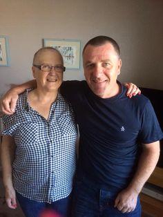 Mam & Gary braved the shave
