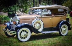 Ford Model A 4 Door Phaeoton 1931. Maintenance of old vehicles: the material for new cogs/casters/gears could be cast polyamide which I (Cast polyamide) can produce