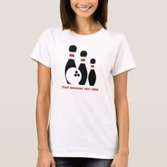 Shop Bowling ball and pins custom T-Shirt created by sports_gifts. Personalize it with photos & text or purchase as is! Bowling Pins, Bowling Ball, Golf Ball, Minimalist Icons, Golf Fashion, Sport T Shirt, Ladies Golf, Custom T, Wardrobe Staples