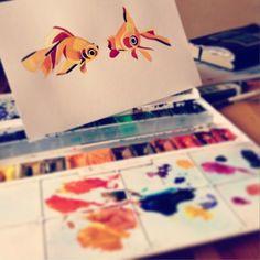 Sasha Unisex Goldfish 2