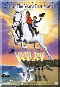 """Into the West is a film about two young boys, Tito (Conroy) and Ossie (Fitzgerald), whose father """"Papa"""" Reilly (Byrne) was """"King of Irish Travellers"""" until his wife, Mary, died during the birth of their second son, Ossie.[3] The boys' grandfather (David Kelly) is an old story-telling Traveller, who regales the children with Irish folk-tales and legends."""