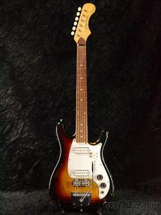 Magnatone 【30周年大感謝祭!!】 1965 Zephyr X-5 -Sunburst- 【MADE IN USA】【Vintage】 【ギタープラネット】