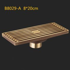 8*20cm/8*30cm Euro Style Antique Brass Bathroom Linear Shower floor Drain Wire Strainer Art Carved Cover Waste Drainer B8029
