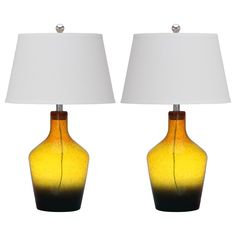 Antiquarian Glass Table Lamp