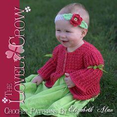 "Baby Sweater Cardigan ""Bella Sarah Cardi   Craftsy"