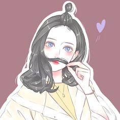 Anime Girl Cute, Beautiful Anime Girl, Anime Art Girl, Manga Girl, Aesthetic Anime, Aesthetic Art, Pretty Art, Cute Art, Girl Cartoon