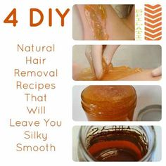 4 Of The Stickest DIY Hair Removal Recipes