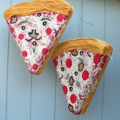 Image of Pizza Piñata Girl Birthday Themes, Girl Themes, Happy Birthday Me, 2nd Birthday, Pizza Party Birthday, Birthday Parties, Surprise Pizza, Throw A Party, Party Planning