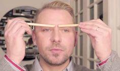 Affiner ou épaissir l'apparence du nez en fonction de la forme des sourcils. | 38 astuces beauté simples et pratiques