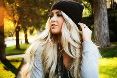 CARA LOREN, love her hair.