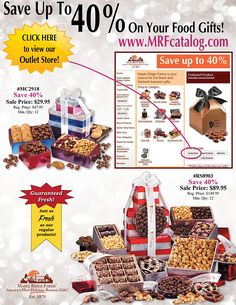 44 Delicious Gifts from Savings of 20-40% from Maple Ridge Farms