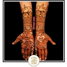 No photo description available. Henna Hand Designs, All Mehndi Design, Mehndi Designs Finger, Traditional Mehndi Designs, Basic Mehndi Designs, Mehndi Designs For Girls, Mehndi Designs For Beginners, Mehndi Design Pictures, Wedding Mehndi Designs