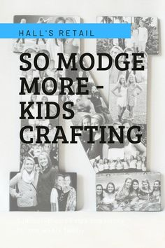 During the Lockdowns, keeping the kids entertained has been taken to another level… enter Hall's So Modge More, so much more than just glue, it can be used to stick, as a finisher and a sealant.    This crafting genius can be used for almost any project, from home decor and jewellery, to scrapbooking and upcycling, and on most surfaces - essentially it is the decoupage medium no self-respecting crafter should be without! Diy Store, Cleaning Hacks, Decoupage, Crafting, Scrapbooking, Diy Projects, Entertaining, Jewellery, Medium