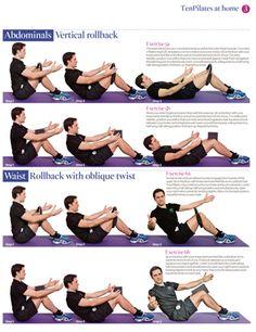 Men doing Pilates!