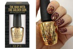 Skyfall OPI 18k gold topcoat