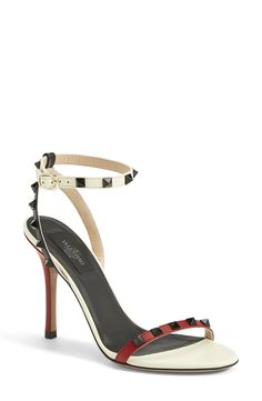 Swooning over these stunning Valentino 'Rockstud' sandals.