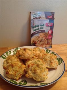Dollar Tree Food - Cheddar Herb Biscuit Mix, Changed cheese to pepper jack. yum!