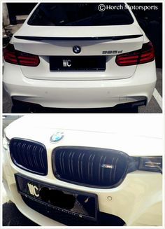 Another F30 with M-P Spoiler & Dual Fins grille. TQVM!! FREE installation @ Horch Motorsports 017-210 5779. #Bimmer #F30 #3Series #Spoiler #BMW #EuroAuto #EuroCar #Motorsport #HorchMotorsports #MPower #MPerformance