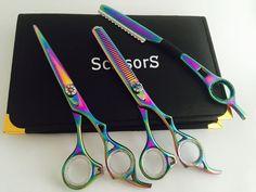 NEW PROFESSIONAL SALON HAIRDRESSING HAIR CUTTING THINNING BARBER SCISSORS+RAZOR #ScissorsPlus