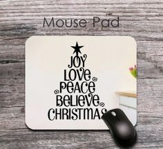 personalized warm 2016 new year wishes mouse pad - personalized 2016 new year wishes mouse mat - office decor
