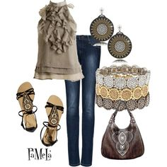 Ruffles and Sparkles, created by pjm27 on Polyvore
