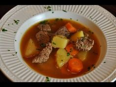 Beef Stew is easy to make.  All you need is some beef, carrots, potatoes. onions, garlic, beef base, and some tomato paste.  You can prepare this stew in under an hour.