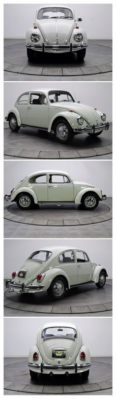 1969 VW Beetle. The car I learnt driving on.